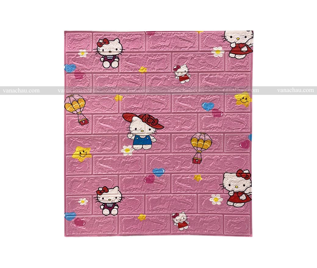 Xốp dán tường Hello Kitty