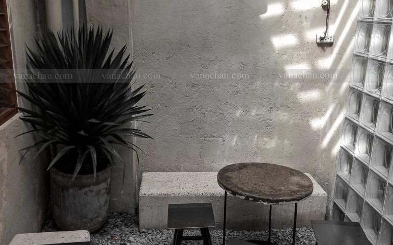 Gạch kính mặt trời và Trốn Cafe